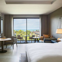 Hua Hin spa resorts review - Marriott Deluxe Sea View room