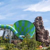 Vana Nava water park is where to take your kids in Hua Hin and stay at the next door Holiday Inn