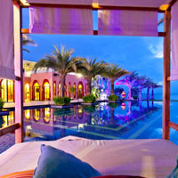 Moroccan tones of the stylish and fun Marrakesh Resort and Spa, Hua Hin