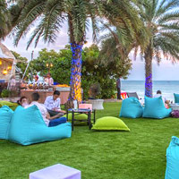 Marrakesh beachfront is a spot for parties and fun cocktails