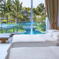 Sheraton Lagoon View room - Hua Hin child friendly hotel and weddings on the beach