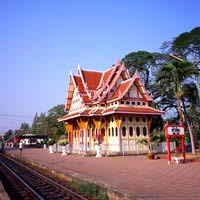 Hua Hin guide, railway station