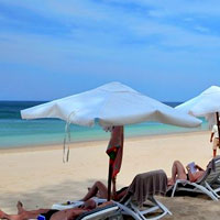 Best Krabi beach resorts, Layana's white sand stretch