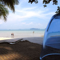 Krabi fun guide for families, Tubkaak Boutique Resort Beach