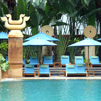 Pattaya resorts review, Avani pool