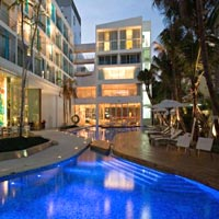 Pattaya boutique hotels, D2 Baraquda
