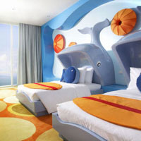 Pattaya child-friendly hotels, Holiday Inn kids' room