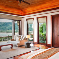 Phuket luxury villas, Andara woody hues