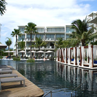 Phuket hip hotels, Dream Phuket offers lots of tanning spots