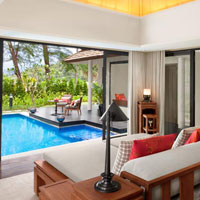 Anantara Layan's pool villas have replaced Bundarika