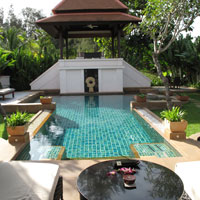Best Phuket spa resorts, Banyan Tree villa with pool