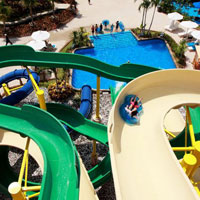 Family friendly guide to Phuket, Centara Grand West Sands water slides