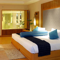 Holiday Inn Busakorn Wing style, family-friendly lux