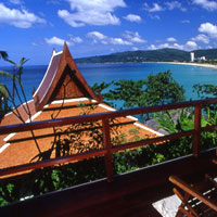 Marina Phuket view - there's also the Dino Park mini-golf