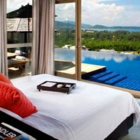 Phuket resorts review, Pavilions ocean view