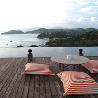 Phuket fun guide, Baba Nest rooftop bar at Sri panwa resort