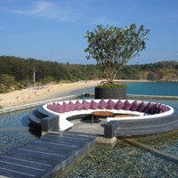 Phuket hip hotels, Reflections bar at The Nai Harn