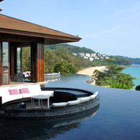 Phuket fun resorts, Pullman Arcadia has huge views from the hill