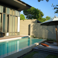 Phuket resorts review, Sala Phuket pool villa and private courtyard