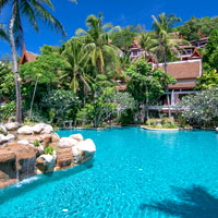 New look Thavorn Beach Village & Spa, good Phuket beach weddings pick