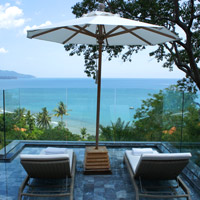 Phuket luxury resorts review, Trisara villa bay view