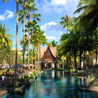 Best Phuket hip hotels, Twinpalms pool