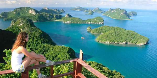 Koh Samui fun guide - Ang Thong National Marine Park is a popular side trip for divers and nature lovers