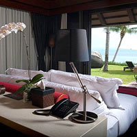Samui resorts review, Akatsuki villa with sea view