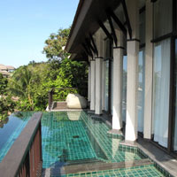 Koh Samui spa resorts, Banyan Tree pool villa