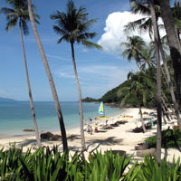 Four Seasons Samui review, private beach