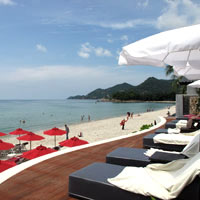 Samui boutique resorts, Kirikayan on Chaweng Beach