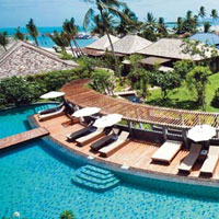 Samui family friendly resorts, Outrigger