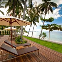 Samui beach resorts, Movenpick boardwalk