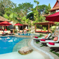 Samui boutique resort, Rocky's new pool