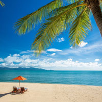 Santiburi Samui serves up a terrific beach