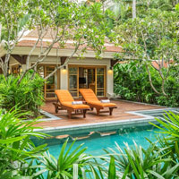 Best Samui family hotels, Santiburi Grand Deluxe Beachfront Villa