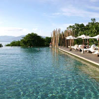 Koh Samui spa resort, Six Senses Hideaway pool