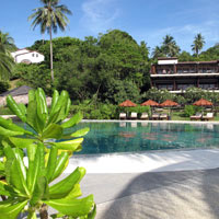 Koh Samui spa resorts review, Tongsai Bay pool