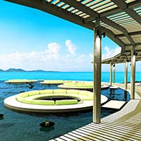Best Samui spa resorts, the W is tops with great fiews and family facilities too