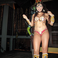 Samui nightlife, Zico's Brazilian dancer