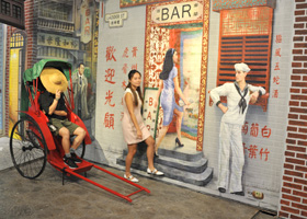 World of Suzie Wong 3D art at Madera Hong Kong