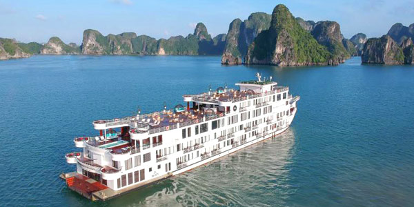 President Cruises brings luxury overnight trips to Halong Bay