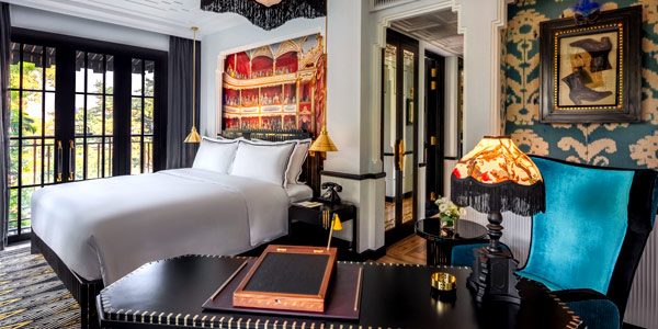 Bill Bensley's Capella Hanoi offers lush surrounds for history and opera buffs