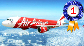 AirAsia, Best Budget Airline in Asia 2018