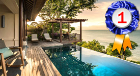 Four Seasons Resort Bali at Jimbaran Bay, ranked Asia's Best Spa Hotel in 2019