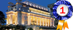 The Fullerton Hotel Singapore, Voted the Best Business Hotel in Asia