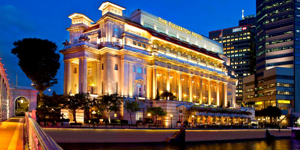 The Fullerton Hotel Singapore, voted the Best Conference Hotel in Asia for the decade 2010-2019