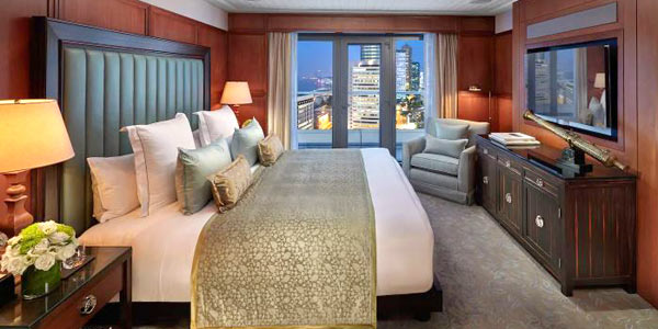 Mandarin Oriental Hong Kong, voted the Best Business Hotel (Classic) in Asia for the decade 2010-2019