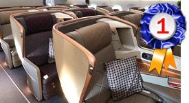SIA Business Class ranked Best in the World