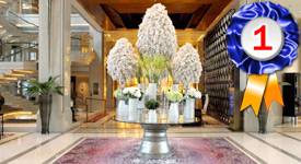 Siam Kempinski Bangkok, voted the Best Luxury Hotel in Asia for 2019